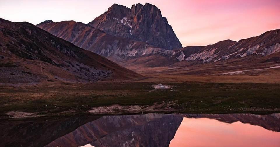 Abruzzo conosci il lago pietranzoni lo specchio del gran sasso - Ristorante lago lo specchio ...