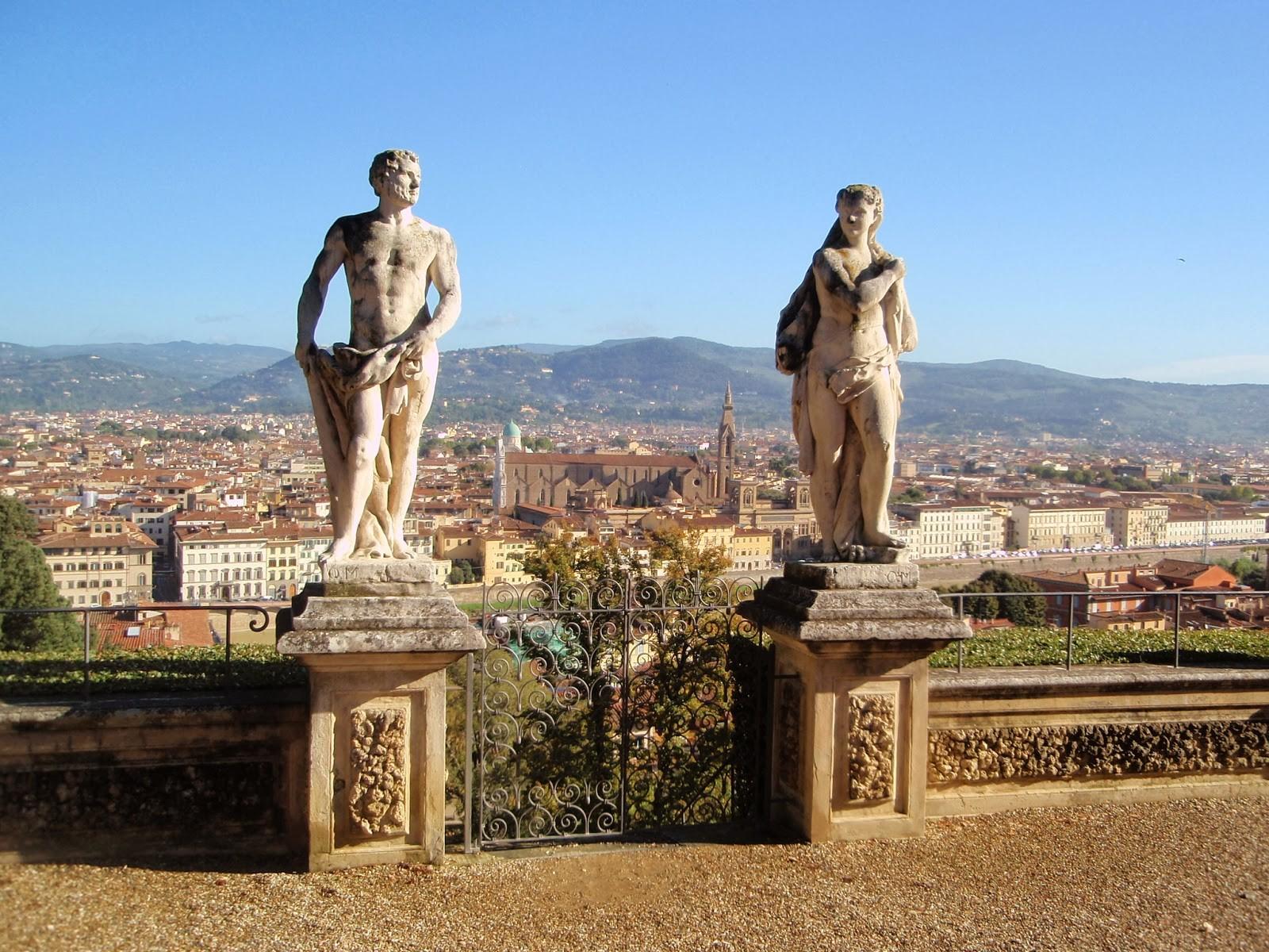 Firenze. Il Giardino Bardini e la Meravigliosa vista sul Centro ...