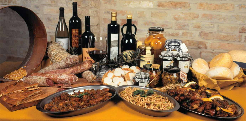 Gusto in abruzzo ecco la lista completa dei 148 prodotti for Roma prodotti tipici