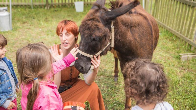 """Eventi in Trentino. """"Conosciamo gli Asinelli del Ranch"""", esperienze per grandi e piccini"""