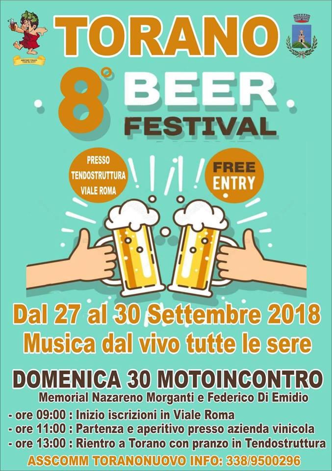 Eventi in Abruzzo. Birra a volontà al Torano Beer Festival