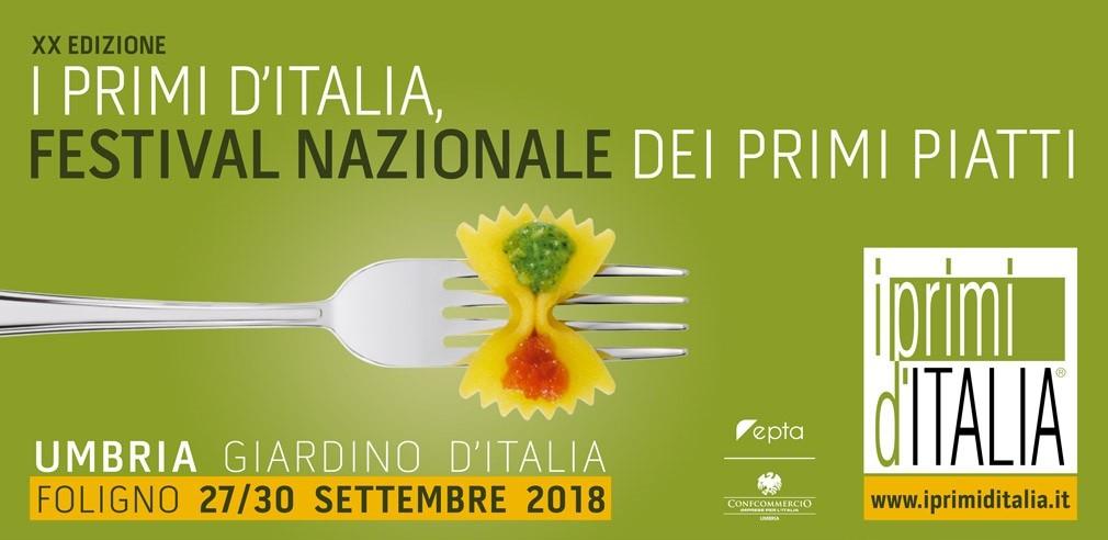 Sagre. A Foligno il 20° Festival Nazionale dei Primi Piatti 2018