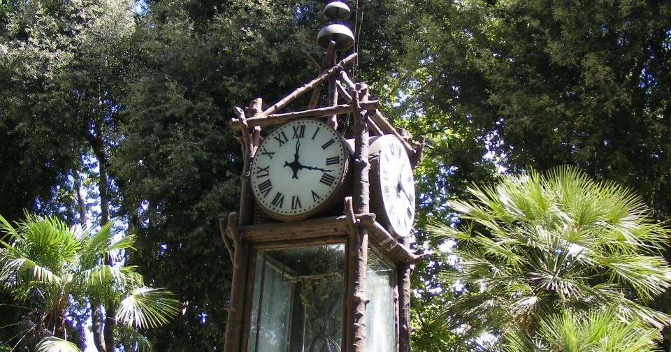 Roma hai mai visto l orologio ad acqua del pincio un luogo magico