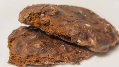 Come fare i mostaccioli al cioccolato