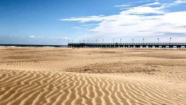 spiaggia di vasto, pontile