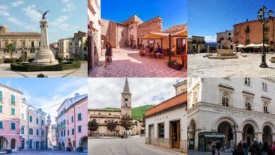 Abruzzo. Le 6 piazze e piazzette che ti consigliamo di visitare