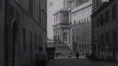 Roma. Com'era il Rione Monti nel 1955?