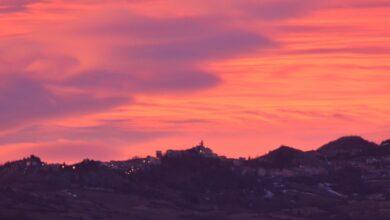 tramonto a montenerodomo