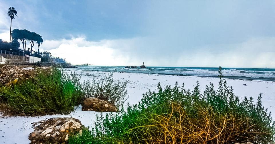 neve spiaggia vasto
