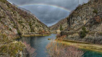 arcobaleno lago di san domenico