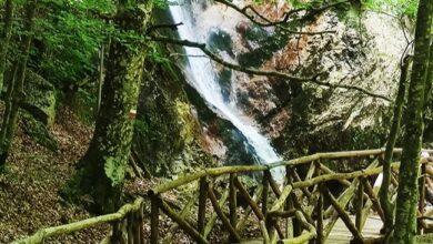sentiero delle cascate camosciara