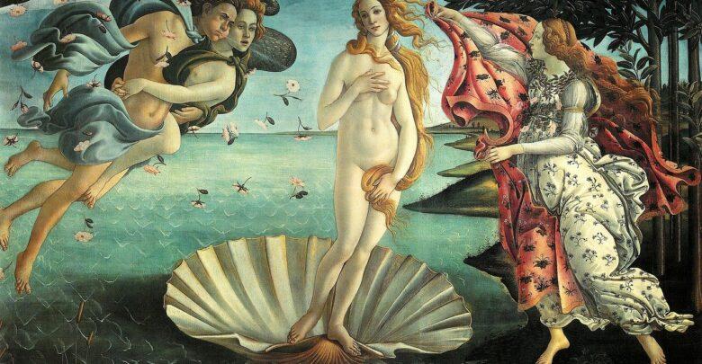 venere botticelli uffizi firenze