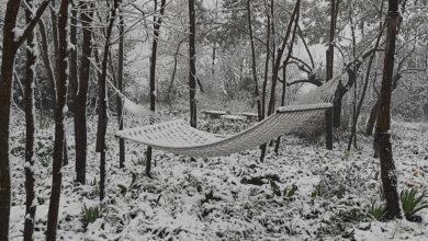 """Il """"relax"""" della neve nelle campagne di Pollutri, Chieti"""