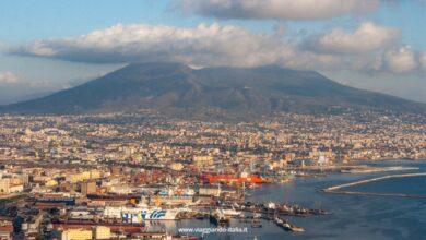 Napoli. Come arrivare sul Belvedere del Castel Sant'Elmo che guarda il Vesuvio, il golfo e Spaccanapoli?