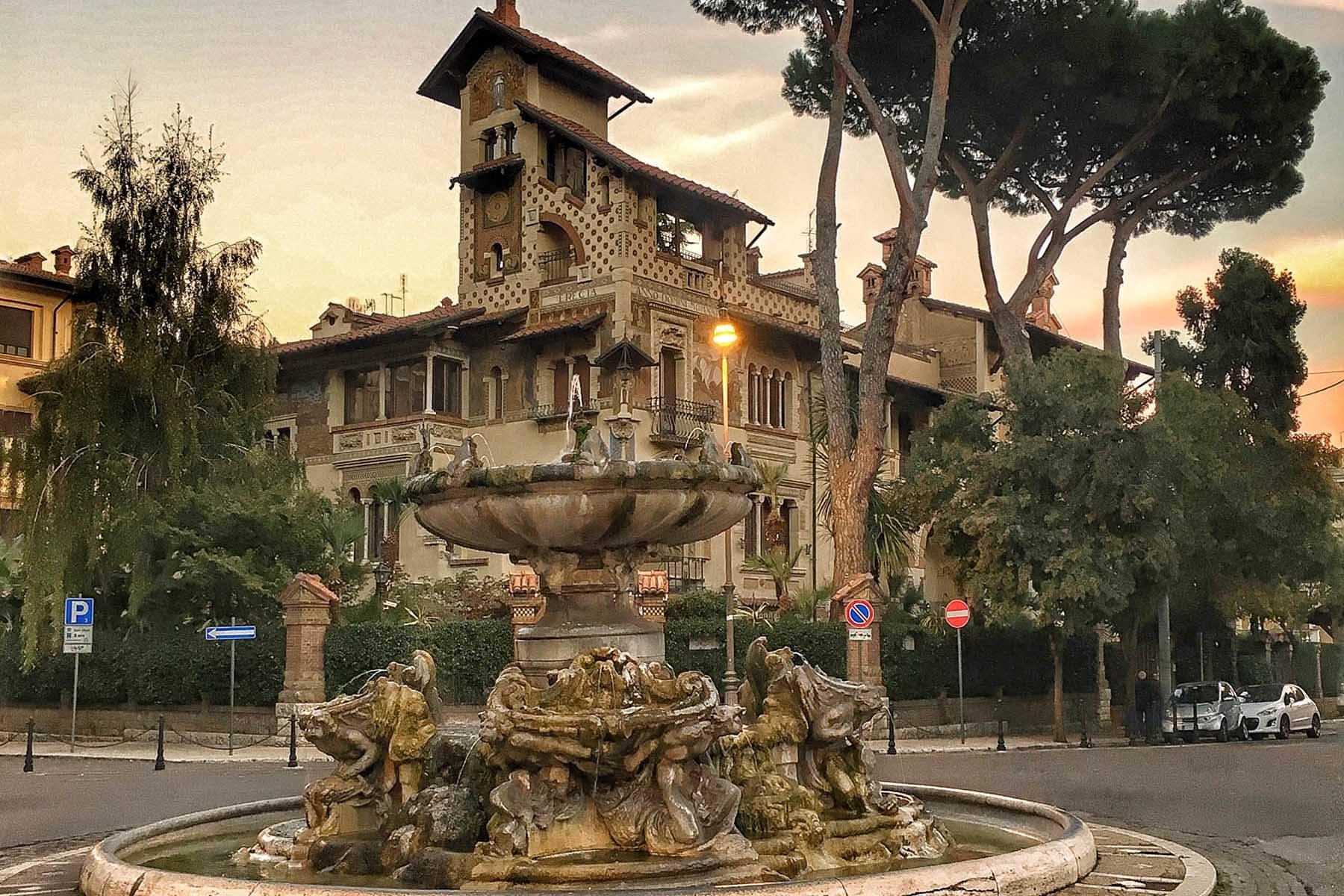 Eventi a Roma. Architetture simboliche dal Quartiere Coppedè a Villa Torlonia (dal vivo)