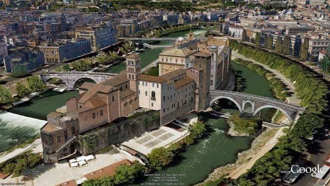 Il Ghetto Ebraico di Roma e isola Tiberina