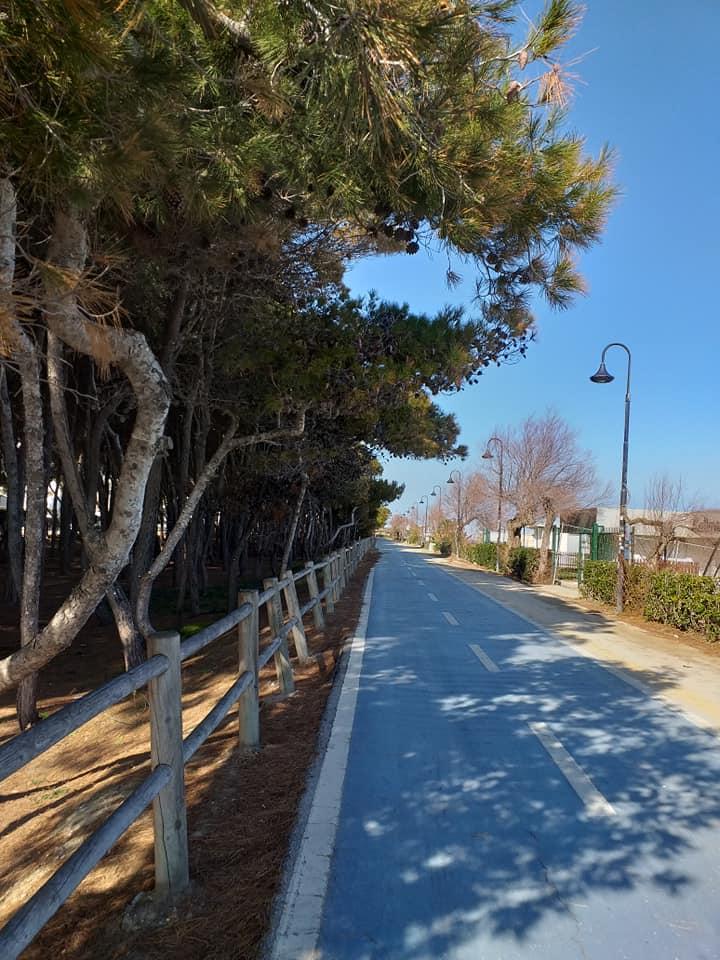 pista ciclabile alba adriatica