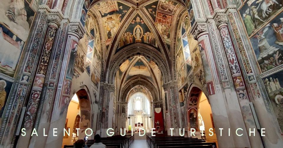 Galatina (Lecce). Hai già ammirato l'interno affrescato della bellissima Basilica di Santa Caterina d'Alessandria