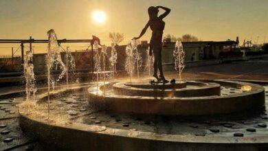 Hai già ammirato la Statua della Ninfa della Naiadi a Pescara che risorge dall'acqua?