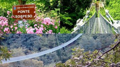 """Hai già attraversato il Ponte Sospeso delle Ferriere che è stato nel Guinness dei primati per il """"più lungo del mondo""""? / Video"""