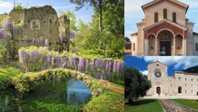 Itinerario nella Bellezza: I Giardini di Ninfa, Cisterna di Latina e Abbazia di Valvisciolo a Sermoneta