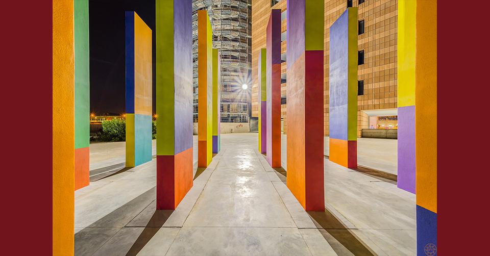 Pescara. Ecco l'opera creativa di Franco Summa in una visione notturna