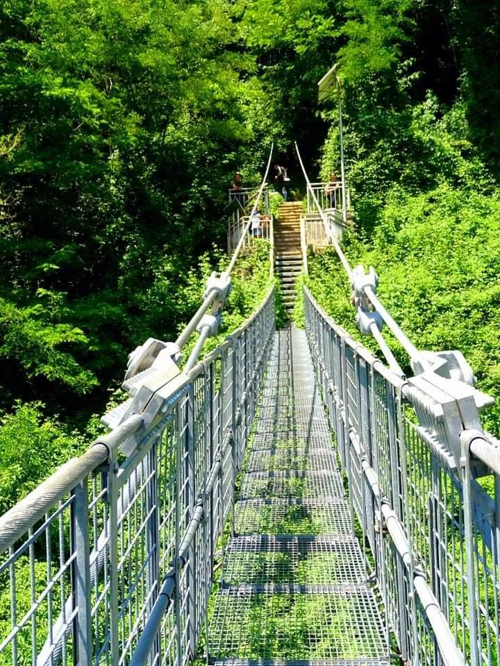 Hai già attraversato il Ponte Sospeso delle Ferriere che è stato nel Guinness dei primati per il _pi