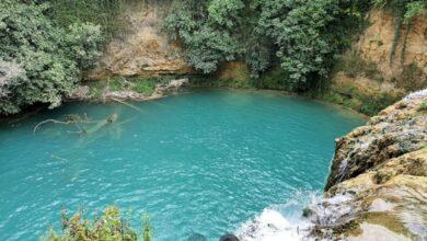 """Conosci le acque turchesi della magica Cascata del Diborrato o del """"carro armato"""" a Colle di val d'Elsa?"""