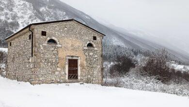 """Ecco la chiesetta che dice Ciao, in versione """"inverno-primavera"""". Sai dove si trova?"""