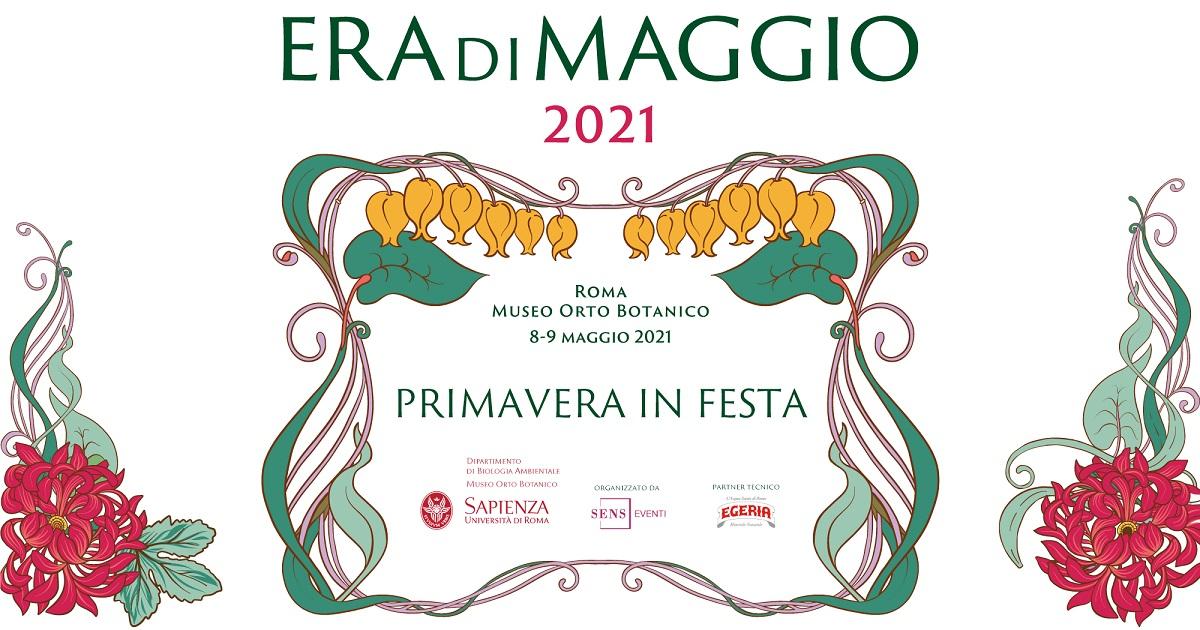 """Eventi a Roma. """"Era di Maggio 2021"""", la Festa di Primavera all'Orto Botanico"""