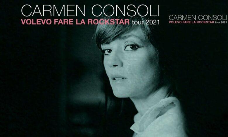 Eventi a Pescara. Carmen Consoli in Concerto 2021, Volevo fare la rockstar