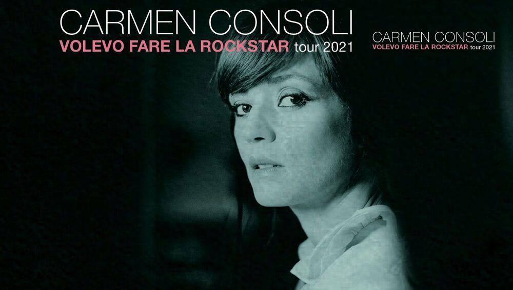 """Eventi a Pescara. Carmen Consoli in Concerto 2021, """"Volevo fare la rockstar"""""""
