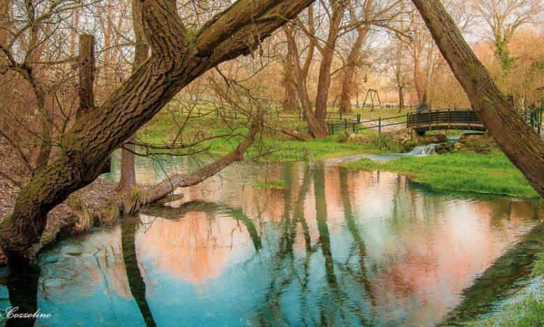 Parco delle Sorgenti del Fiume Lavino. In Abruzzo il Paradiso è a portata di mano