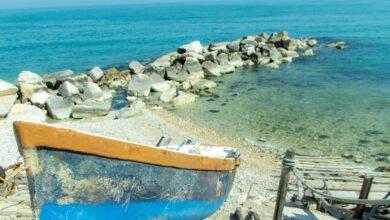 Profumo di mare e d'estate tra le piccole barche di Acquabella a Ortona