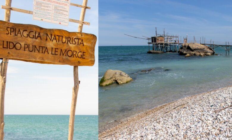 Sai dove si trova in Abruzzo l'unica Spiaggia Naturista a due passi da un Trabocco_