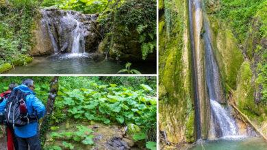 Come fare per visitare la Cascata delle Vallocchie sul Lago del Turano? Sentiero facile e sentiero difficile, quale fare?
