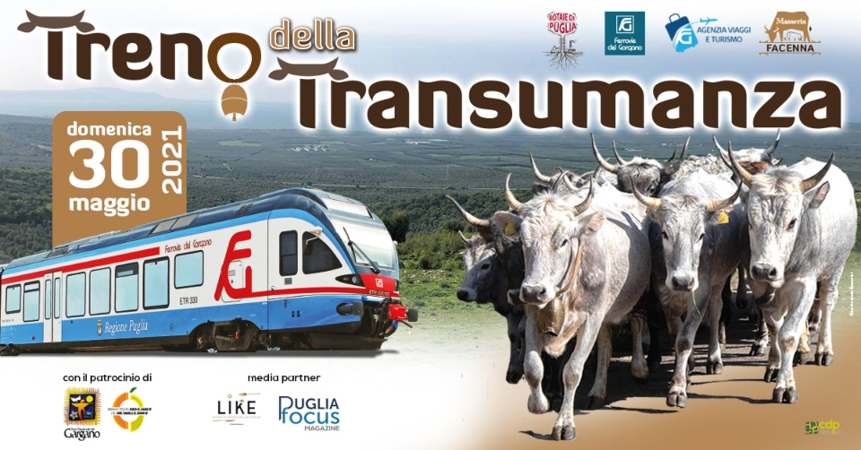 """Eventi in Puglia. """"Il Treno della Transumanza"""", viaggio speciale da Foggia e San Severo"""