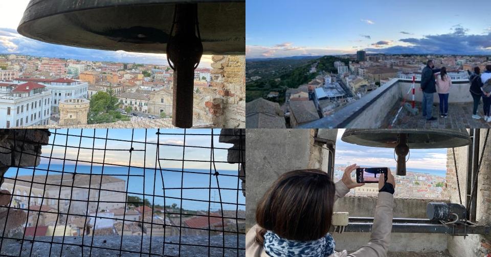 Giornate FAI a Vasto. In cima al campanile di S. Maria. Orari e Come prenotare