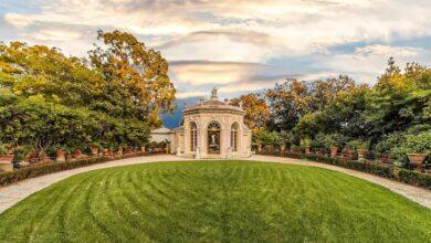 """Hai già visitato Villa Durazzo Pallavicini, il giardino storico romantico che ti """"porta in teatro"""" ?"""