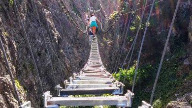 Hai già tenuto il fiato sospeso sul Ponte Tibetano Claviere, il ponte sospeso più lungo del mondo