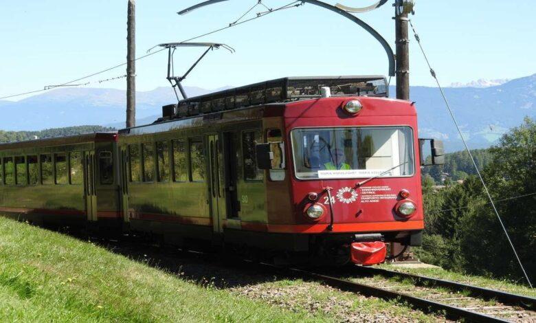 Hai già viaggiato sul Treno Turistico del Renon, nato ai tempi della Belle Époque Dettagli e Video