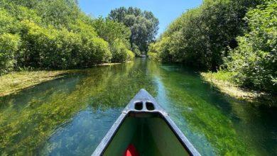 Siete già stati in canoa sul Tirino, la _strada nella natura_ più trasparente d'Italia_