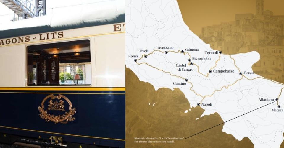 Itinerari del Treno della Dolce Vita (Orient Express). 4 _ La Via Transiberiana e i Sassi di Matera