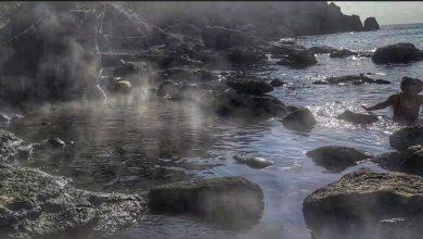 """Quanto è calda l'acqua delle Terme di Sorgeto? Ecco un simpatico """"esperimento"""" culinario"""