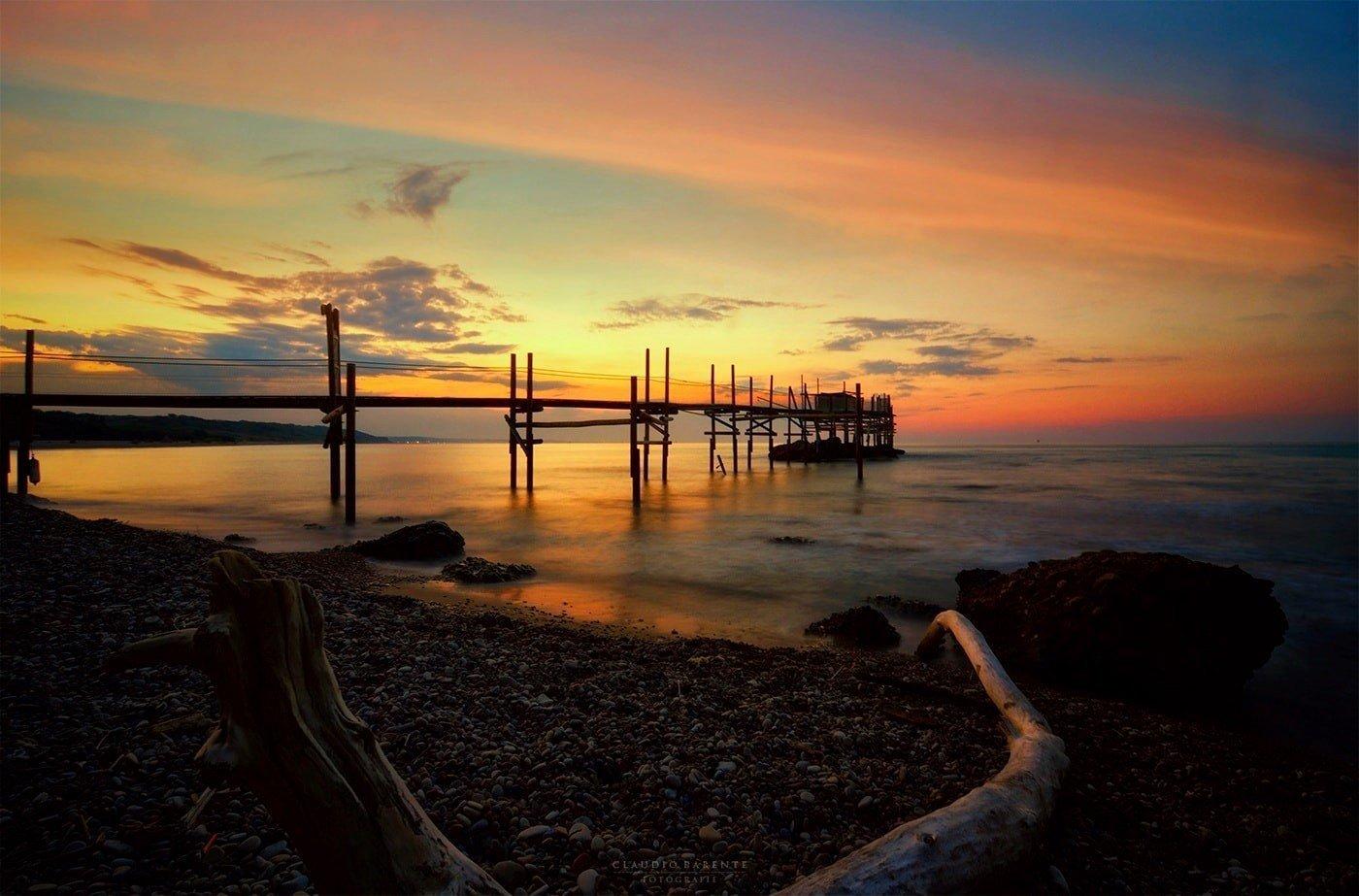 Costa dei Trabocchi. Un velo di Silenzio risuona nella Bellezza di Punta Aderci