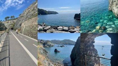 Hai già percorso la Pista Ciclopedonale Mare e Monti sull'ex ferrovia Levanto-Framura mario di benedetto
