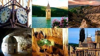 I 9 Posti Surreali e Magici da vedere in Italia per restare meravigliati dalla particolare bellezza