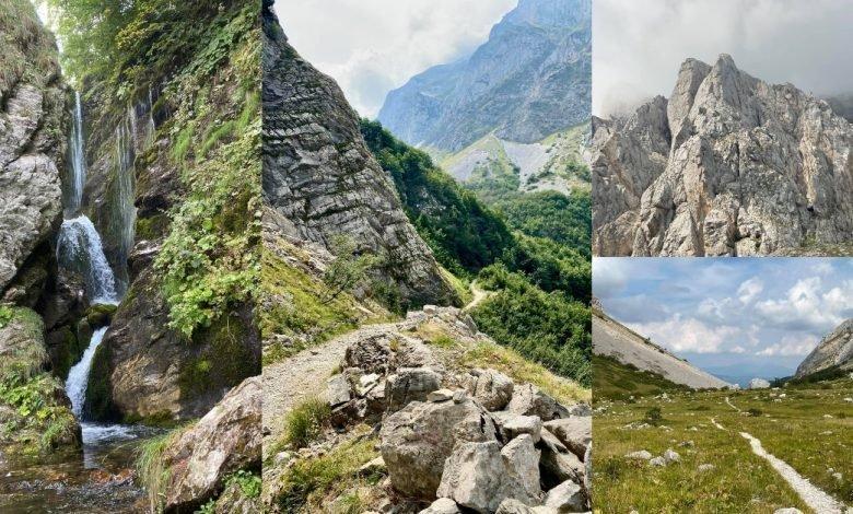 Itinerario in Abruzzo. Da Prati di Tivo verso la Cascata del Rio Arno proseguendo per la Val Maone _
