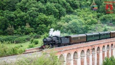 Partenza del Treno Natura. Dagli Etruschi al Brunello con Locomotiva a Vapore