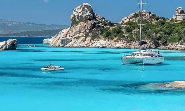 Sardegna. Uno scorcio dell'Arcipelago della Maddalena_ uno sguardo nel Paradiso